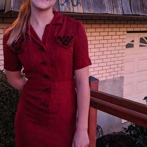 Vintage Manford 1950s dress